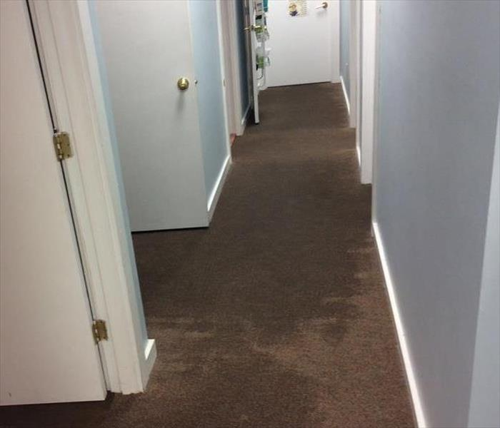 Flooded Doctor's Office  in Chesapeake Before
