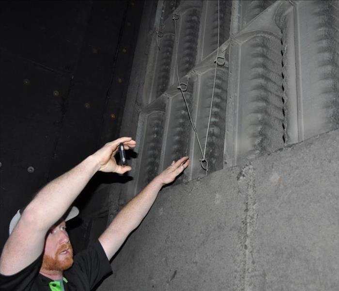 inspecting duct system