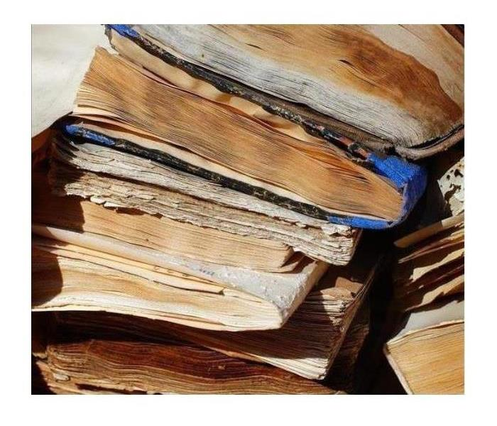 damaged documents and papers