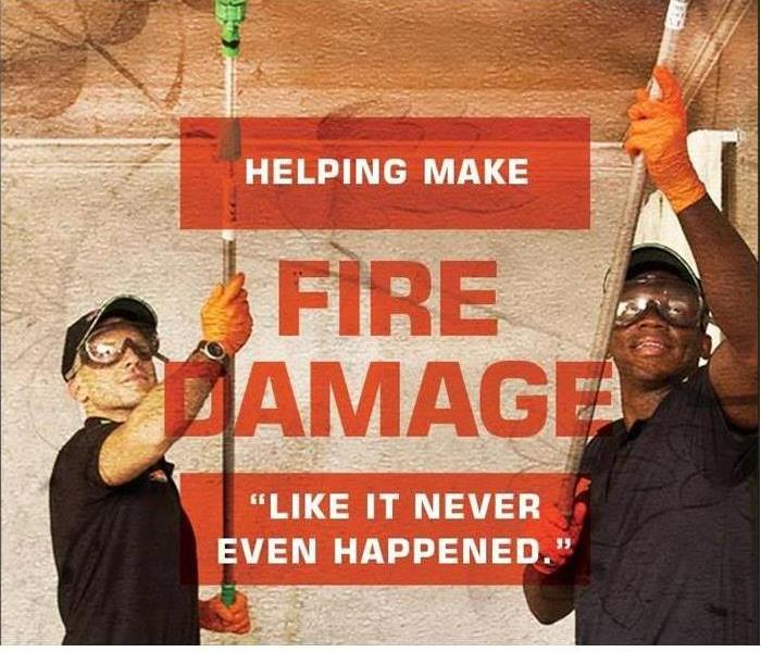 Fire Damage Cleaning and Restoring Fire Damaged Contents in Chesapeake
