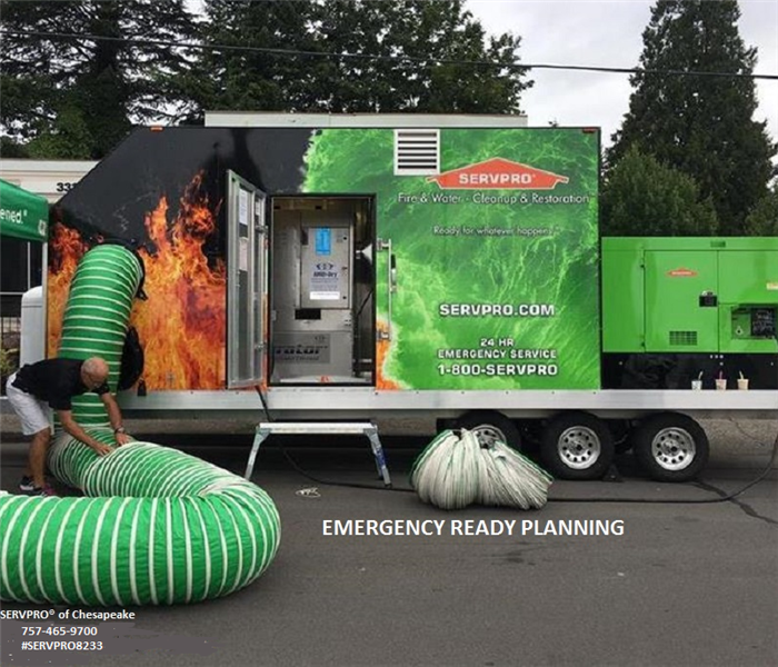Commercial Emergency Preparedness from SERVPRO® of Chesapeake