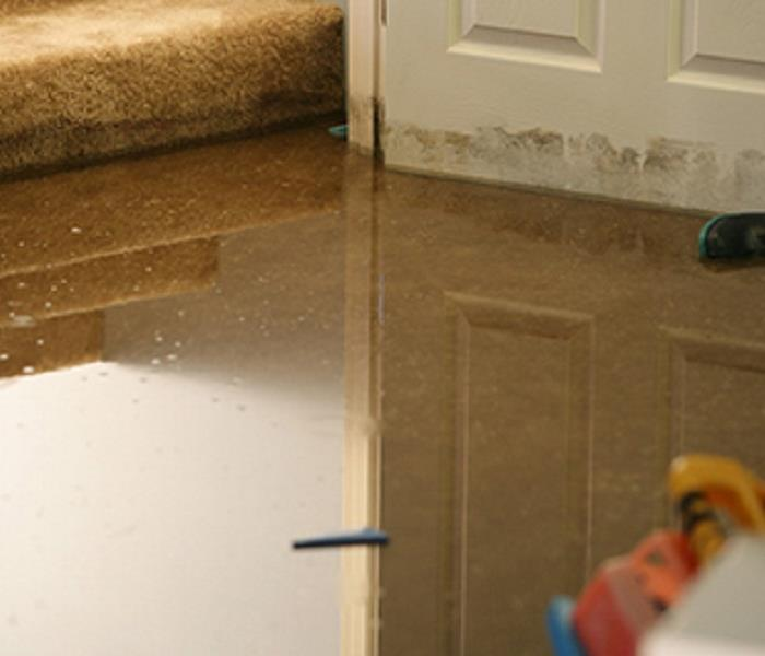 Storm Damage When Storms or Floods hit Chesapeake SERVPRO is ready!